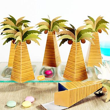 12 stk / sett favørholder - arabisk palme favør bokser beter gaver ® diy arrangement fest dekorasjon