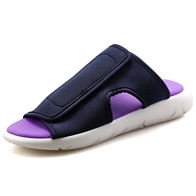 Men's PU(Polyurethane) Spring / Summer Comfort Slippers & Flip-Flops White / Black / Purple