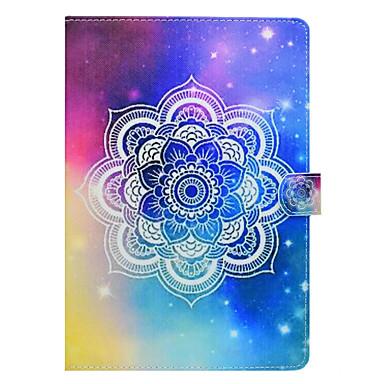 Capinha Para Apple iPad Mini 4 iPad Mini 3/2/1 iPad 4/3/2 iPad Air 2 iPad Air Porta-Cartão Com Suporte Estampada Capa Proteção Completa