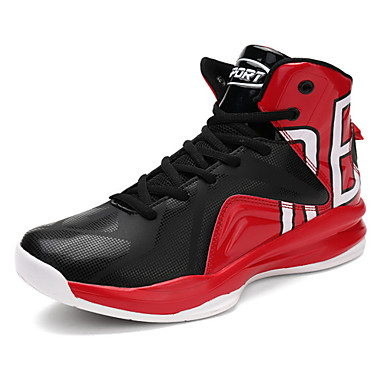 Men's Shoes Customized Materials Spring Summer Comfort Athletic Shoes Basketball Shoes for Athletic Red Black/White Black/Red