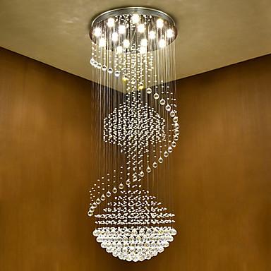 Chandelier Downlight - Crystal, Bulb Included, 110-120V / 220-240V Bulb Included / GU10 / 10-15㎡
