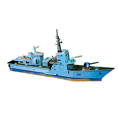 3D Puzzles Jigsaw Puzzle Model Building Kit Christmas Famous buildings Ship Architecture Destroyer 3D DIY Hard Card Paper Classic Cartoon