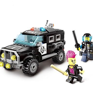 Leluautot Rakennuspalikat Opetuslelut Poliisiauto Lelut Auto Poliisi Ei määritelty Pojat Poikien Pieces
