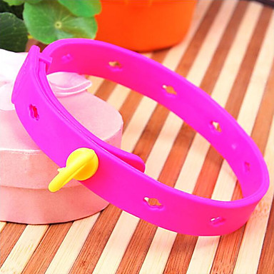 Cat Dog Collar Waterproof Solid Silicone
