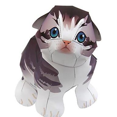 Quebra-Cabeças 3D Maquetes de Papel Animais Faça Você Mesmo Cartão de Papel Duro Crianças Unisexo Dom