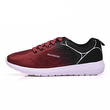 Women's Shoes Synthetic Microfiber PU Spring Fall Comfort Athletic Shoes Running Shoes For Outdoor Orange Green Blushing Pink Burgundy
