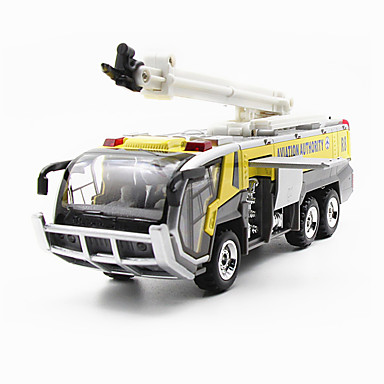Fire Engine Vehicle Toy Truck Construction Vehicle Toy Car Model Car 1:32 Simulation Unisex Kid's Toy Gift
