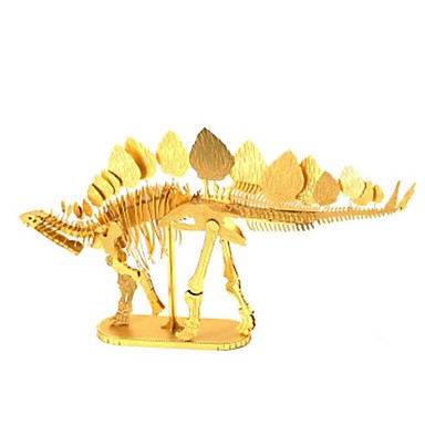 3D-puslespill Puslespill Metallpuslespill Modellsett Dyr 3D GDS Messing Metall-legering Chrome Unisex Gave