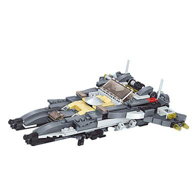 JIE STAR Blocos de Construir Brinquedos de Montar Helicóptero Quadrada Pato Tanque Aeronave Helicóptero Para Meninos Unisexo Dom