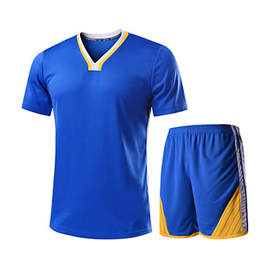 Men's Short Sleeves Basketball Clothing Suits Shorts Wearproof Sports