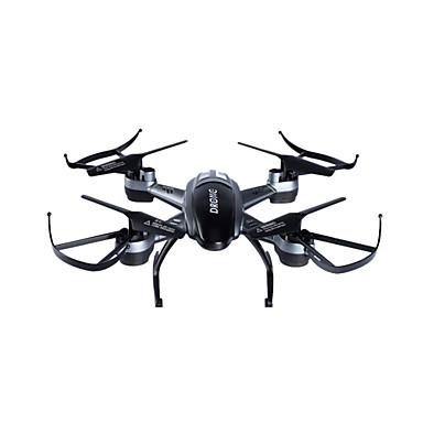 RC Drone LISHITOYS L6056 4 Kanaler 6 Akse 2.4G Med HD-kamera 2.0MP 2 Fjernstyrt quadkopter LED Lys Etter Mode Fjernstyrt Quadkopter