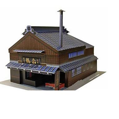 Quebra-Cabeças 3D Maquetes de Papel Brinquedos de Montar Construções Famosas Arquitetura 3D Faça Você Mesmo Clássico Unisexo Dom