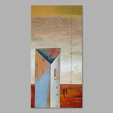 Pintura a Óleo Pintados à mão - Vida Imóvel Moderna Artistíco Tela de pintura