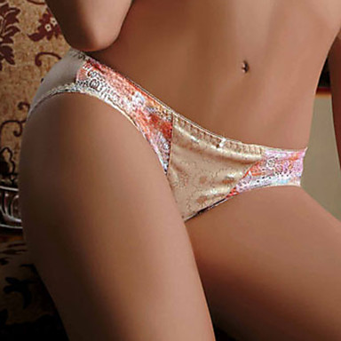 Women's Ultra Sexy Panties - Print, Floral Patchwork