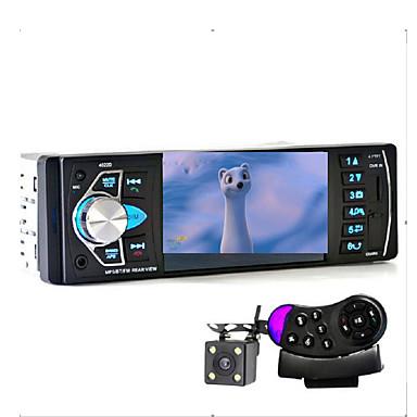 Reprodutor de música de carro com câmera de visão traseira suporte bluetooth mp5 / mp4 / mp3 / fm transmissor video de carro com controle