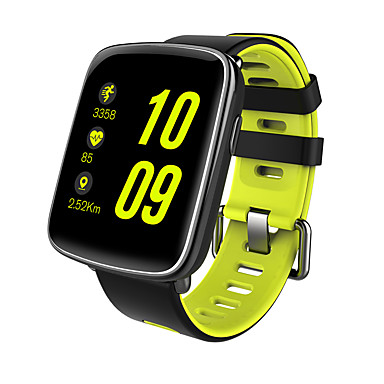 Smart Watch Touch Screen Heart Rate Monitor Water Resistant / Water Proof Calories Burned Pedometers Exercise Record Information