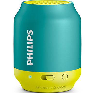 PHILIPS BT25B Speaker Bluetooth2.0 Portable Mini Compatible for Apple / Samsung Mobile / Computer