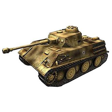 voordelige 3D-puzzels-Speelgoedauto's 3D-puzzels Bouwplaat Tank Strijdwagen Hard Kaart Paper Unisex Speeltjes Geschenk