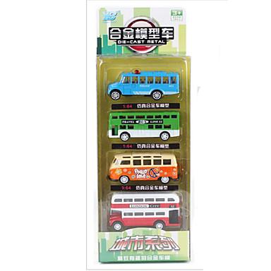 Carros de Brinquedo Brinquedos Motocicletas Brinquedos Rectângular Ônibus Liga de Metal Ferro Peças Unisexo Dom