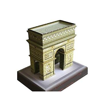 voordelige 3D-puzzels-3D-puzzels Bouwplaat Modelbouwsets Beroemd gebouw Arc de Triomphe DHZ Klassiek Unisex Speeltjes Geschenk