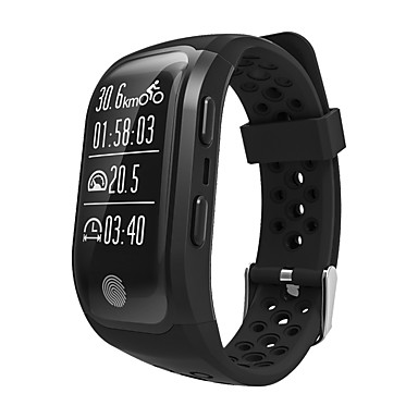 Smart Bracelet iOS / Android GPS / Heart Rate Monitor / Water Resistant / Water Proof Pedometer / Activity Tracker / Sleep Tracker