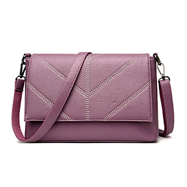 Women Bags PU Crossbody Bag for Wedding Event/Party Casual Formal Office & Career All Seasons Blue Black Red Purple Light Gold