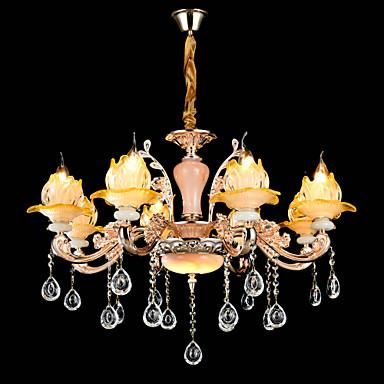 Tradicional / Clássico Lustres Luz Superior - Cristal Estilo Mini, 110-120V 220-240V Lâmpada Não Incluída