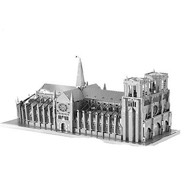3D Puzzles Jigsaw Puzzle Metal Puzzles Model Building Kit Rectangular Tower Famous buildings Architecture Eiffel Tower 3D Iron Aluminium