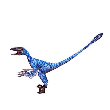 3D palapeli Paperimalli Neliö Dinosaurus DIY Kova kartonki Poikien Unisex Lahja