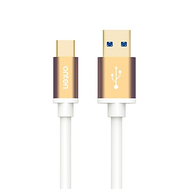ONTEN USB 3.0 Cable USB 3.0 to USB 3.0 Type C Cable Male - Male 2.0m(6.5Ft)