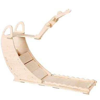 voordelige 3D-puzzels-Muwanzi 3D-puzzels Legpuzzel Houten modellen Vliegtuig Beroemd gebouw Meubilair DHZ Puinen Klassiek Kinderen Unisex Speeltjes Geschenk