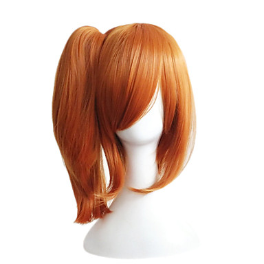 Synthetic Wig Straight Asymmetrical Haircut Synthetic Hair Natural Hairline Brown Wig Women's Medium Length / Mid Length Capless
