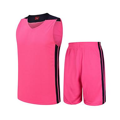 Men's Sleeveless Basketball Clothing Suits Shorts Wearproof Sports