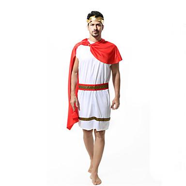 Romerske Kostymer Egyptiske Kostymer Cosplay Farao Cosplay Kostumer Mann Festival/høytid Halloween-kostymer Halloween Karneval Andre