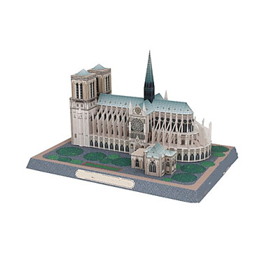 3D-puslespill Papirmodell Modellsett Kjent bygning Kirke Arkitektur 3D GDS Klassisk Unisex Gave