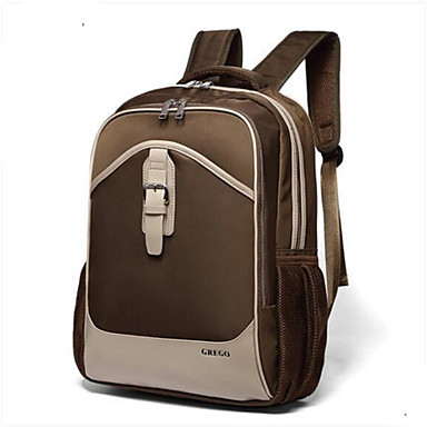 Men's Bags PU Backpack for Casual All Seasons Blue Black Coffee