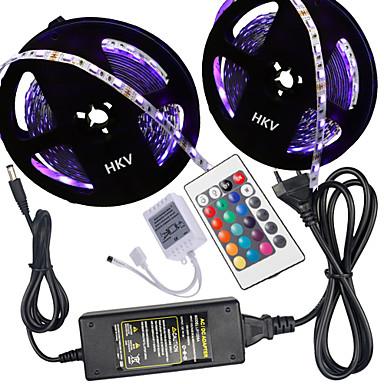 HKV 10m Light Sets 300 LEDs 5050 SMD RGB 100-240 V