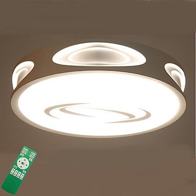تركيب السقف المدمج ضوء محيط - تخفيت, LED, ديمابل مع جهاز التحكم عن بعد, 220-240V, ديمابل مع جهاز التحكم عن بعد, وشملت مصدر ضوء LED