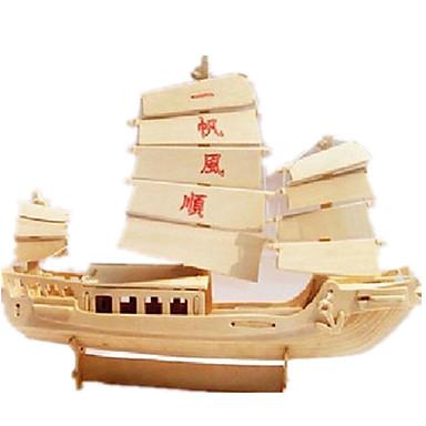 3D-puslespill Puslespill Tremodeller Modellsett Skip simulering GDS Tre Klassisk Kinesisk Stil Voksne Unisex Gave