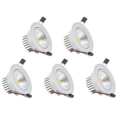 3W 1 LED Tompítható LED mélysugárzók Meleg fehér / Hideg fehér 110-220V Garázs / parkoló / Tárolóhelyiség / Folyosó / lépcsőház