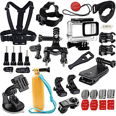 Accessory Kit For Gopro Outdoor All-In-1 Elastic Multi Function Easy to Use For Action Camera All Action Camera All Gopro Gopro 5 Xiaomi