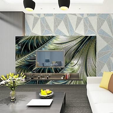 Mønster Tapet til Hjemmet Moderne Tapetsering , U-vevet stoff Materiale selvklebende nødvendig Veggmaleri , Tapet