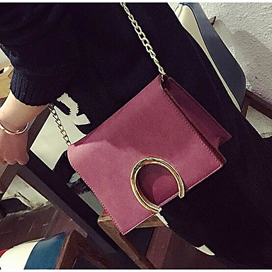 Women Bags All Seasons PU Polyester Shoulder Bag for Casual Outdoor Green Black Blushing Pink