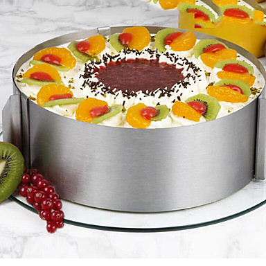 Bakeware tools Stainless Steel / Synthetic / Steel Multi-function / Nonstick / Baking Tool Cooking Utensils / Cake Round Cake Molds 1pc