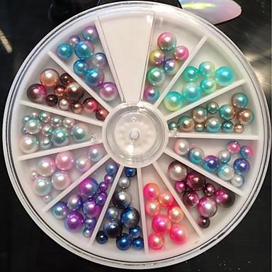 1pcs Rhinestones & Sequins Pearlised Beads Cute Shiny Nail Art Design