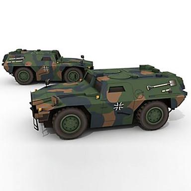 Carros de Brinquedo Quebra-Cabeças 3D Maquetes de Papel Quadrada Cavalo Charrete Cartão de Papel Duro Unisexo Dom