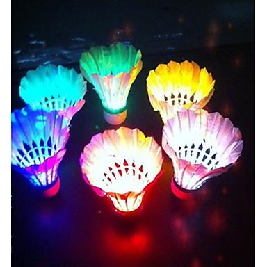 LED-valo LED valot 4kpl Korkki LED valot Kevyet materiaalit Vapaa-ajan urheilu Sulkapallo