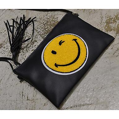Women's Bags PU Shoulder Bag for Outdoor Black