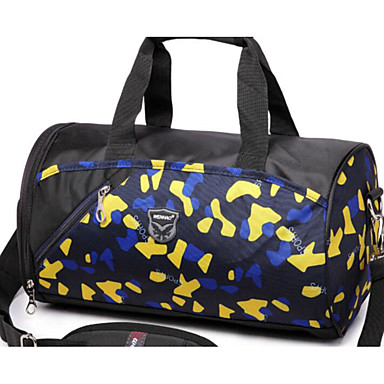 Unisex Bags All Seasons Oxford Cloth Polyester Travel Bag for Casual Outdoor Black Fuchsia Deep Blue