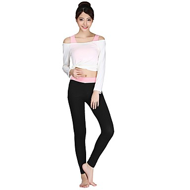 Yoga Clothing Suits Moisture Wicking Casual/Daily Sports Wear Women'sYoga Pilates